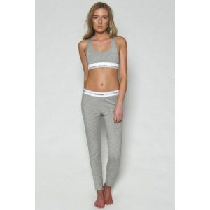 4e9c7f68391a9 Женский комплект Calvin Klein топ лосины серый всего за 1290 рублей ...